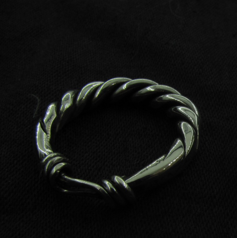 Buy Viking Twisted Silver Ring