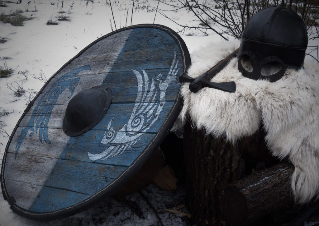 Viking_shild_axe_helmet_armour